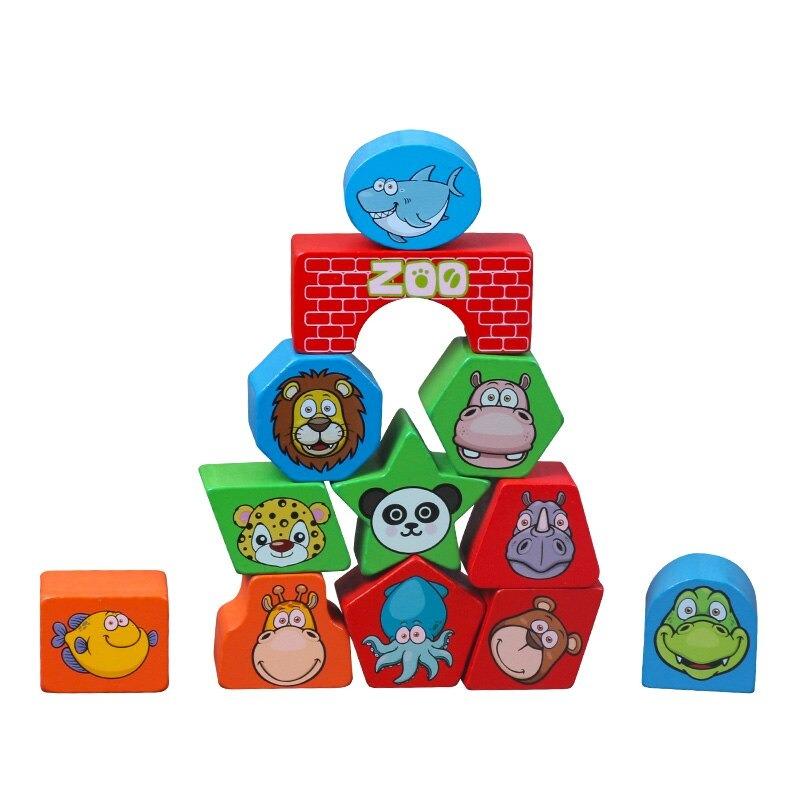 Montessori Cognitive Shapes Matching Cube bolzor.com 3