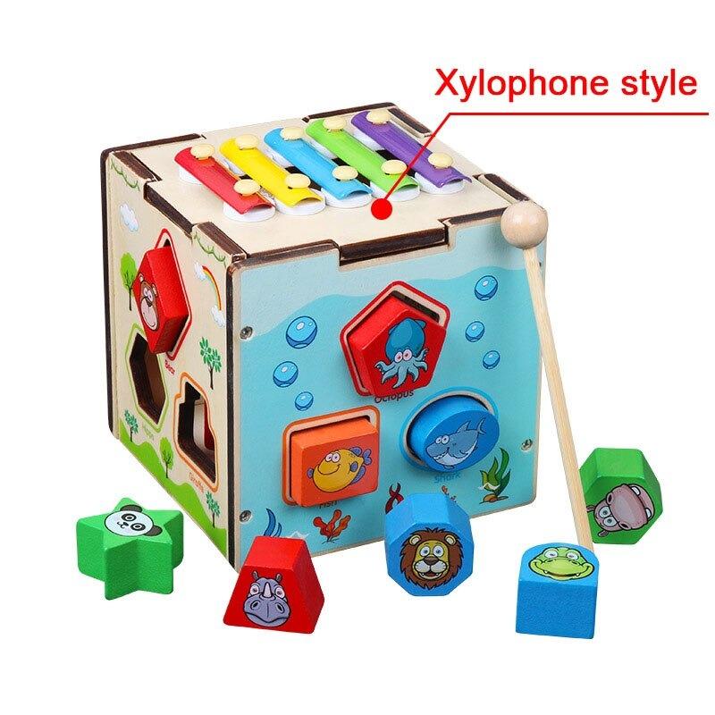 Montessori Cognitive Shapes Matching Cube bolzor.com 7