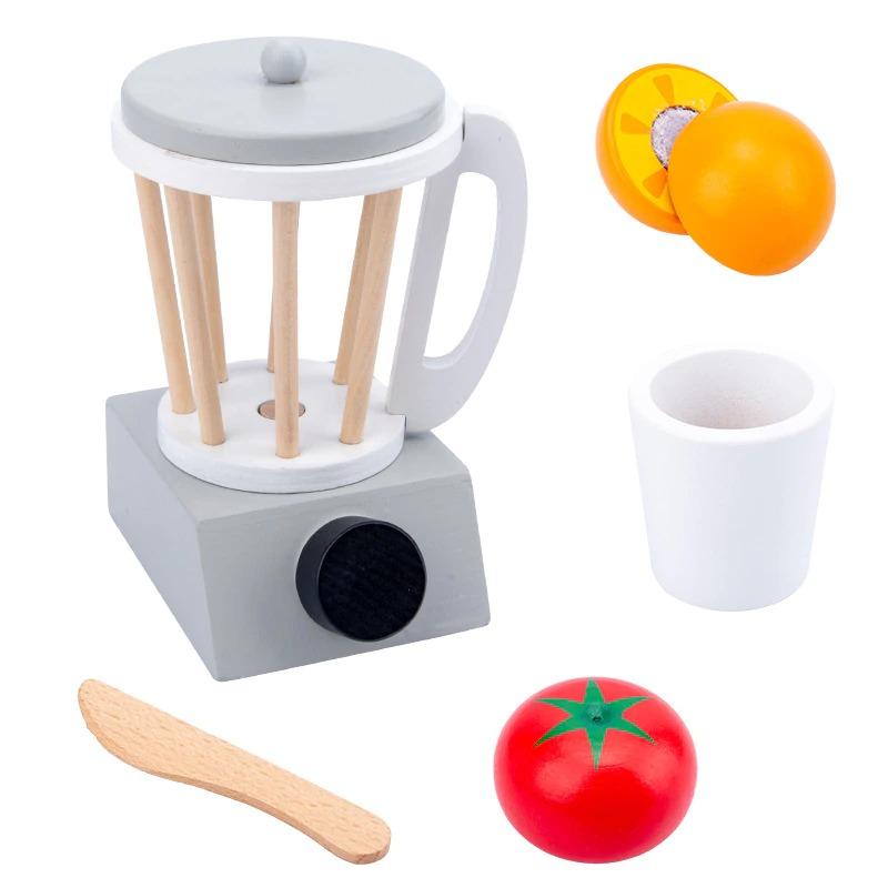 Pretend Play Kitchen Accessories Toy Set (Wooden) 1