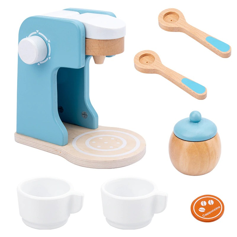 Pretend Play Kitchen Accessories Toy Set (Wooden) 3