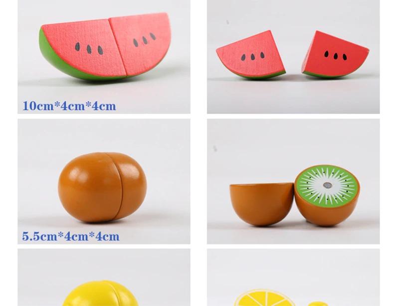 Wooden Cutting Fruit & Vegetables Set 1
