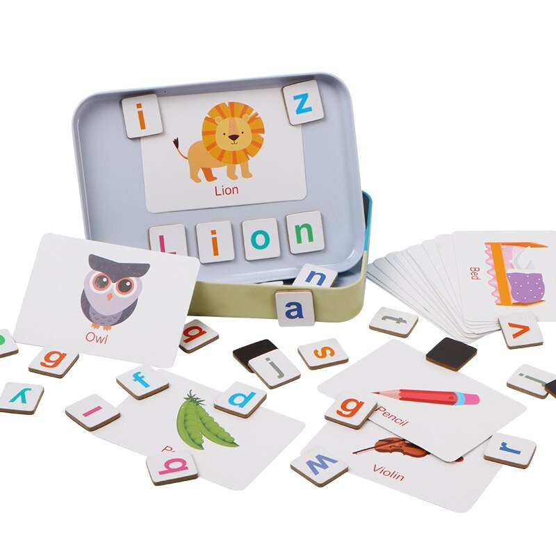 Wooden Magnetic Letters and Numbers Toys 1