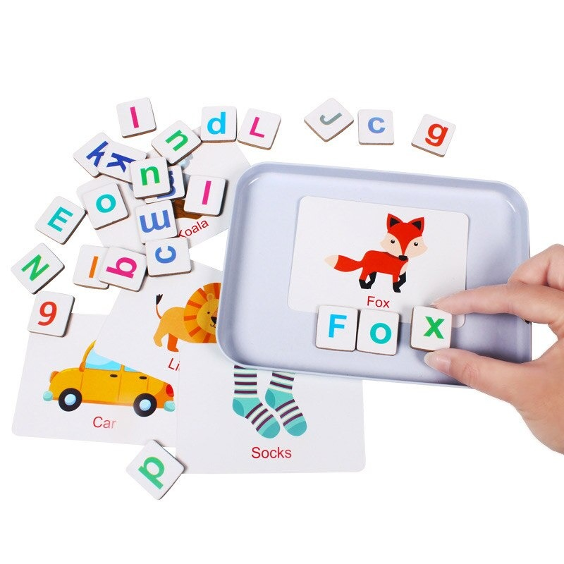 Wooden Magnetic Letters and Numbers Toys 2