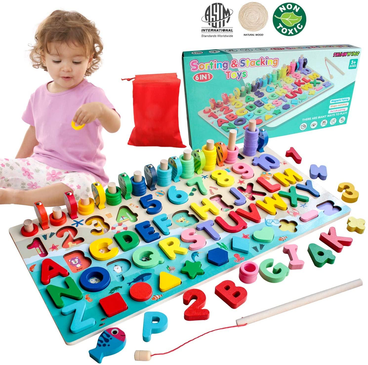 Wooden Montessori Puzzle for kids
